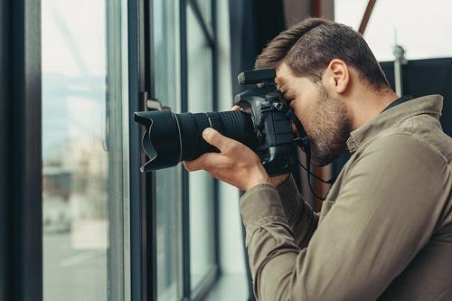 un photographe professionnel à Lyon