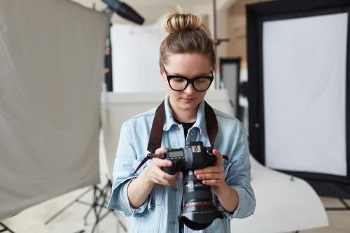un photographe professionnel à Caen